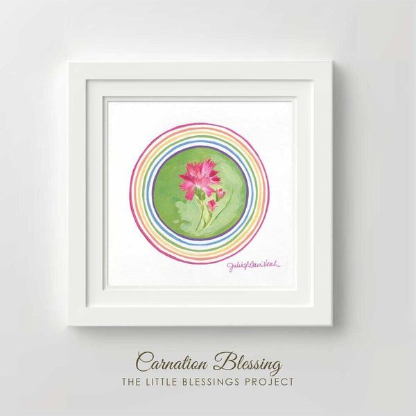 """Carnation Blessing"" - Fine Art Print"