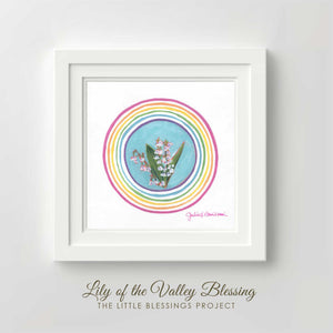 Lily of the Valley Blessing - Fine Art  Print
