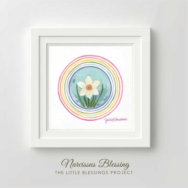 Narcissus Blessing - Fine Art Print