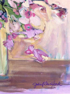 Floral Still Life Original Painting 24x30""