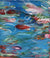 """Monet Monday"" Dyptich Set 16x20"" Originals on Canvas by artist Julie A. Davis Veach - one of two paintings"