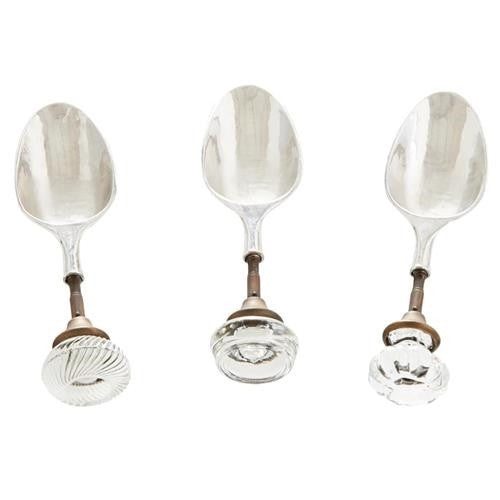 Mudpie - Glass Door Knob Ice Scoops