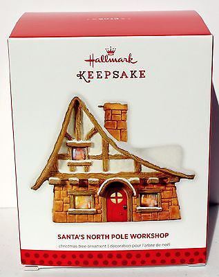 2013 Hallmark Keepsake Ornaments! Santa's North Pole Workshop! HGCE