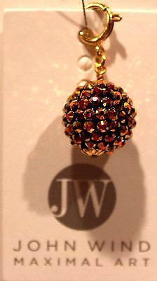 John Wind Charm! Purple & Gold Disco Ball!