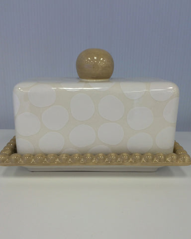 Coton Colors Pebble Covered Butter Dish