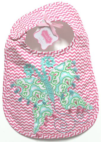 Mud Pie Butterfly Bib!