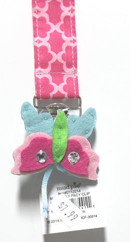 Mud Pie Butterfly Pacy Clip!