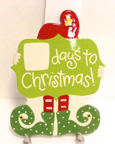 Coton Colors Christmas Countdown Elf Big Attachment!