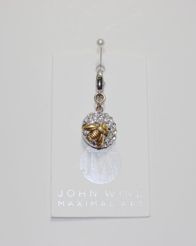 John Wind Charm: Bee Gold, Queen Bee Charms!