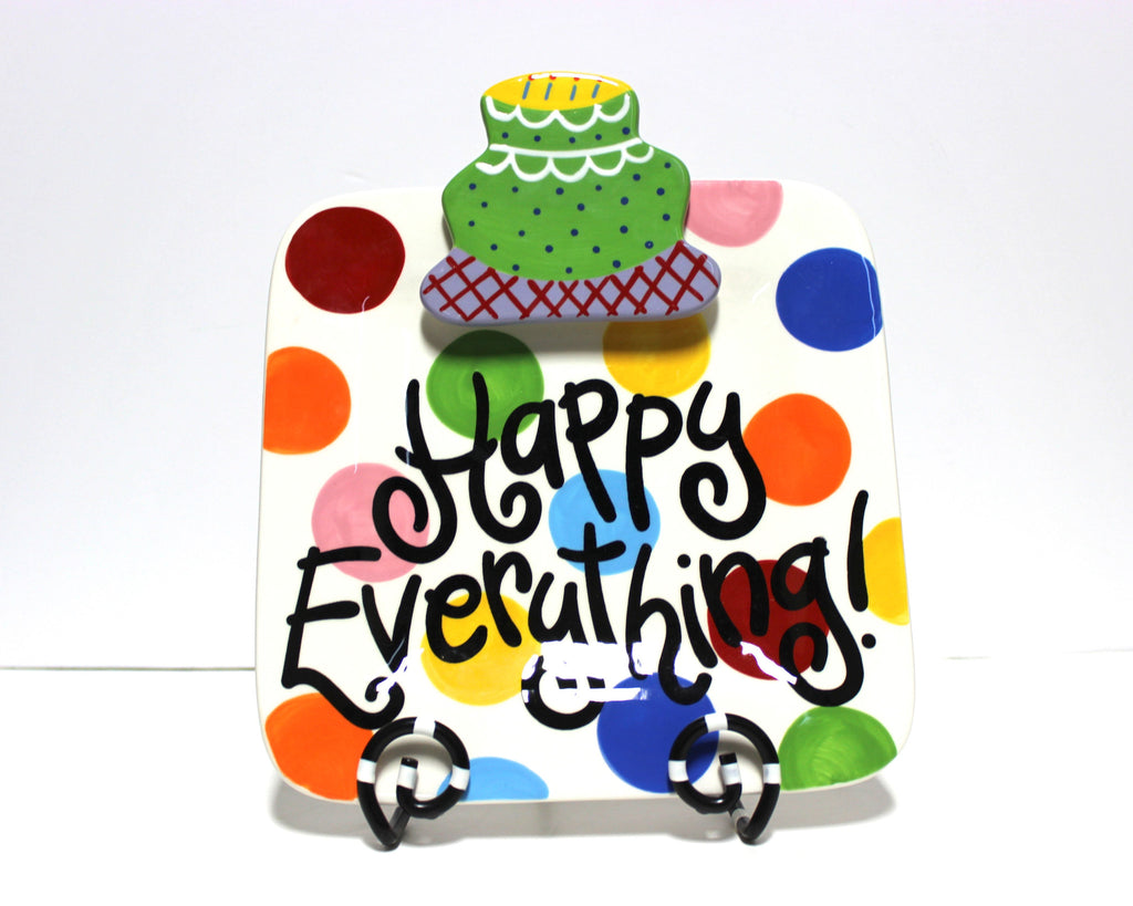 Coton Colors Bright Dot Happy Everything Mini Platter!