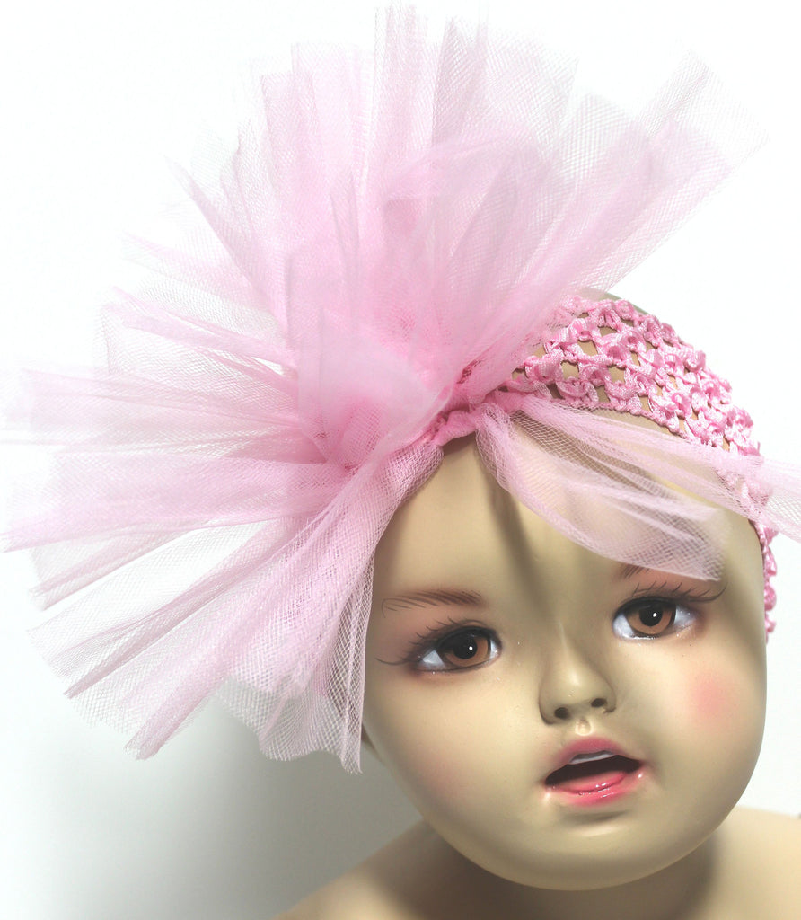 Mud Pie Tulle Puff Headband
