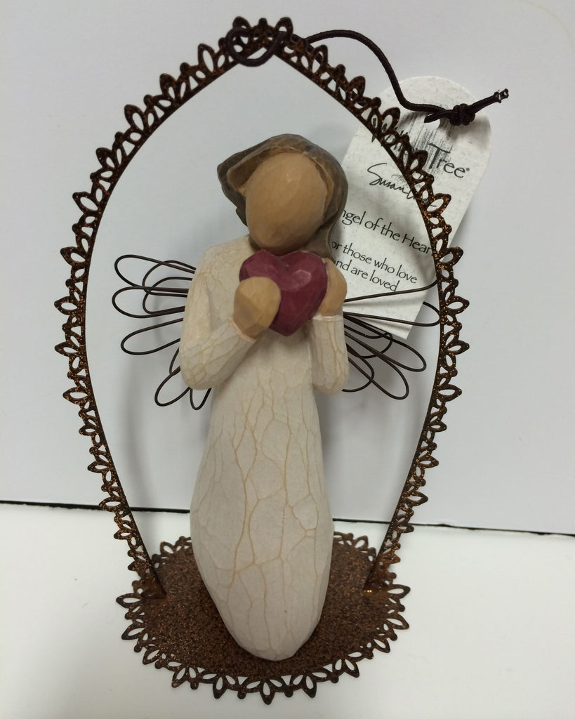 Willow Tree® Trellis Angel of the Heart Ornament