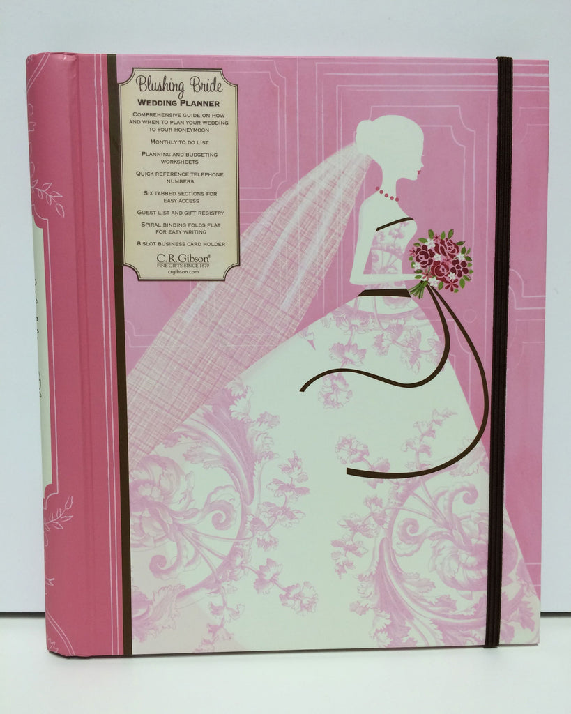 C. R. Gibson Wedding Planner- Blushing Bride!