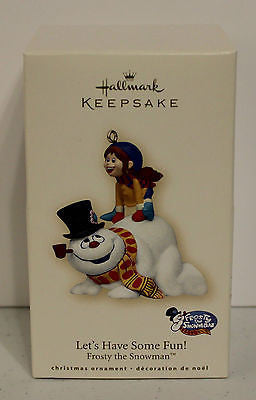 "2007 Hallmark Keepsake Ornaments! Let's Have Some Fun! ""Frosty"""