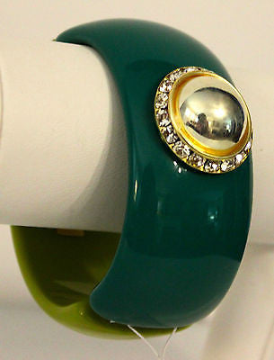 John Wind Maximal Art! Color Blocked Decorative Cuff!