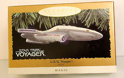 1996 Hallmark Keepsake Ornaments! Star Trek! U.S.S. Voyager!