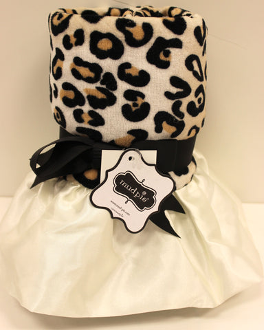 Mud Pie Leopard Blanket