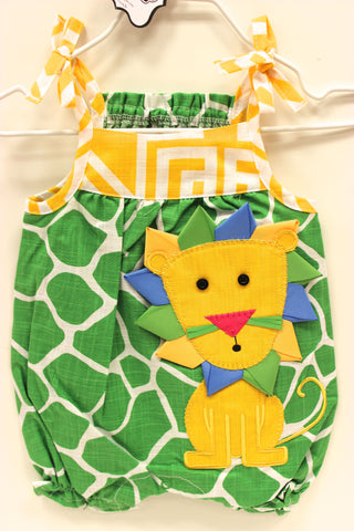 Mud Pie Safari Lion Romper!