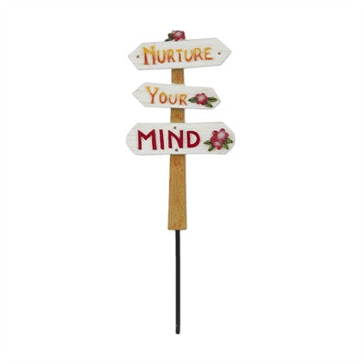 Fairies: Mini Nurture Your Mind Sign
