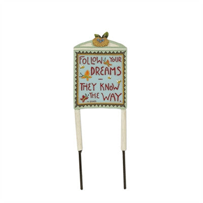 Fairies: Mini Follow Your Dreams Sign