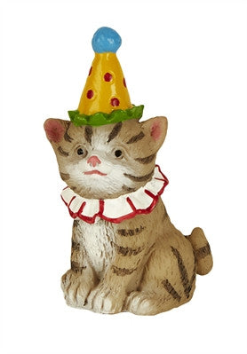 Fairies: Cat w/Party Hat