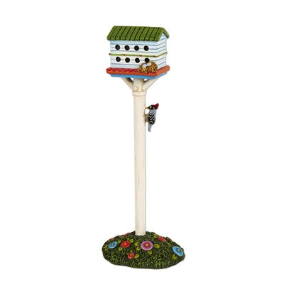 Fairies: Mini White Birdhouse Hotel