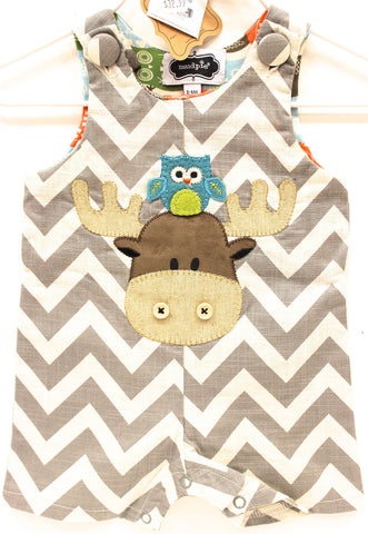 Mud Pie Moose Shortall