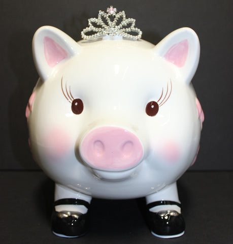 d6d8dcd59092 Mud Pie Giant Princess Piggy Bank