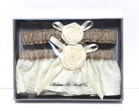 Rustic Country Garter Set!