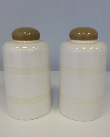 Coton Colors Pebble Salt & Pepper Shaker Set