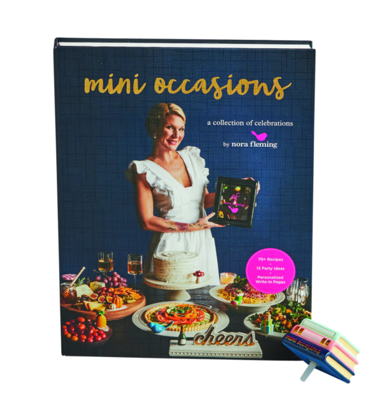 nora fleming mini: mini occasions book and mini set