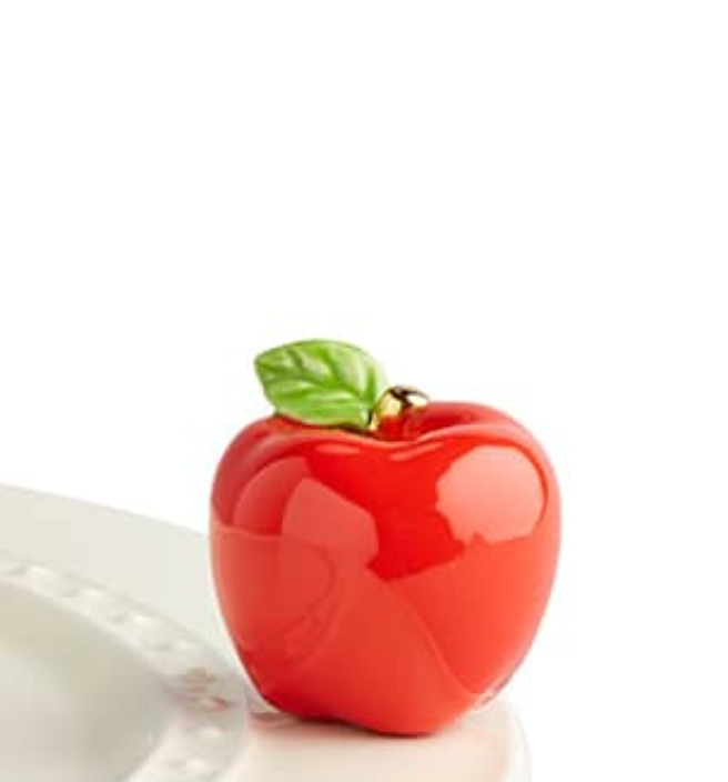 nora fleming mini: an apple a day