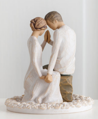 Willow Tree® Around You Cake Topper