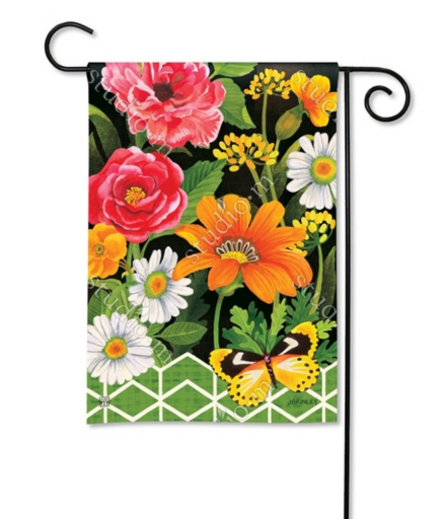 Garden Flag: Fancy Floral
