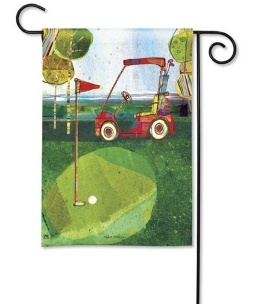 Garden Flag: Par For The Course
