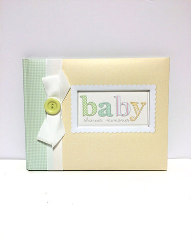 C.R. Gibson Baby Shower Keepsake Book!