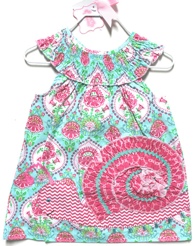 Mud Pie Smocked Snail Dress!