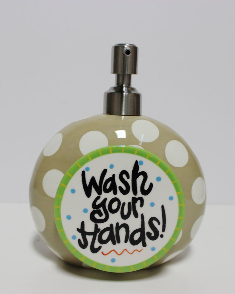 Coton Colors Neutral Dot Happy Everything Mini Soap Pump!