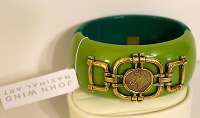 John Wind Maximal Art Color Blocked Equestrian Cuff!