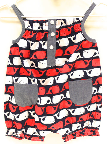 Mud Pie Whale Romper!