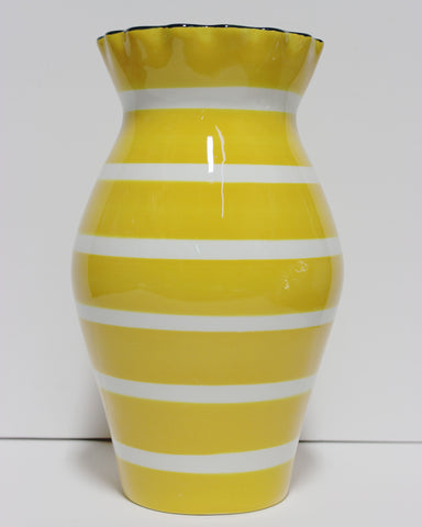 Coton Colors:  Plank 11 Ruffle Vase Daffodil