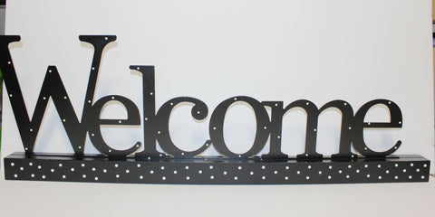 Welcome Decorative Magnetic Wall Word!