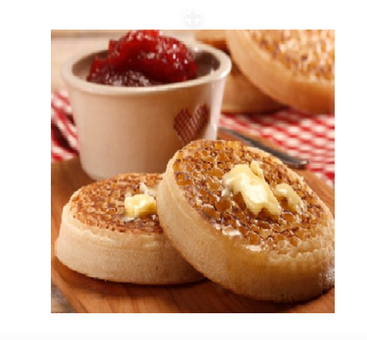 CRUMPETS PACK OF (X6)