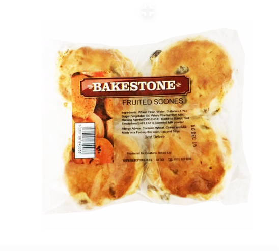 FRUIT SCONES PACK OF (X4)
