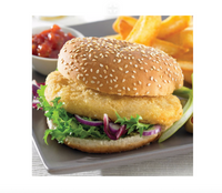 BATTERED CHICKEN BURGER  - PACK OF 2
