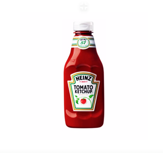 HEINZ KETCHUP SQUEEZY 460 GR
