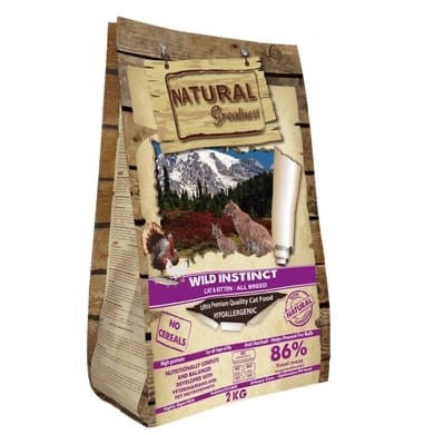 Wild Instinct Recipe (Natural Greatness) 2 kg Cats