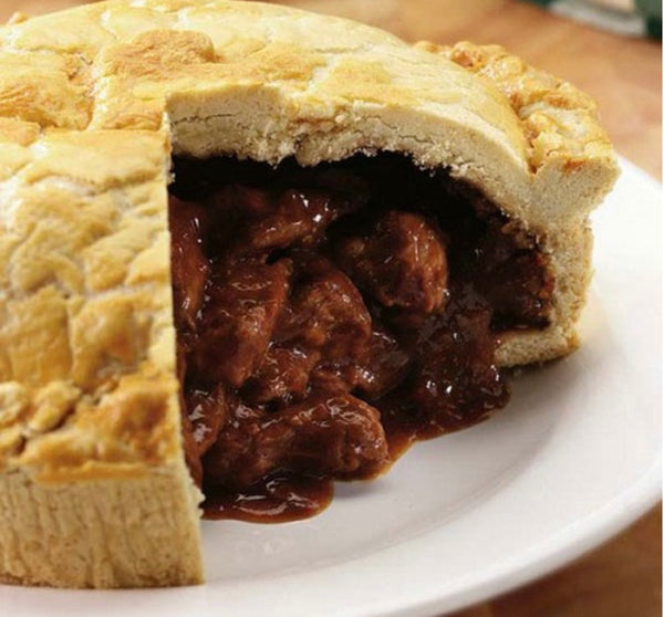LARGE STEAK AND GUINNESS PIE 1 X 300G