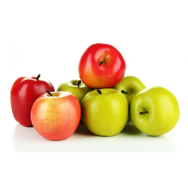 Mixed Fresh Apples x4 (red/green)