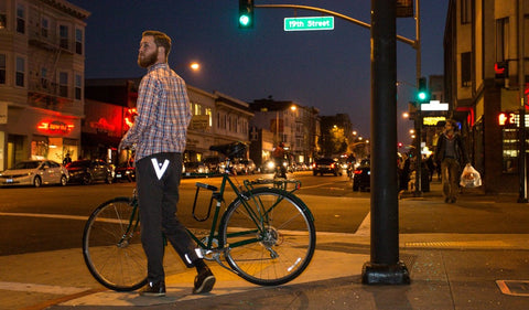 Betabrand Bike Pants.  Runaway Bike.  Home of the HOT TUB and FOAM Bike Wash